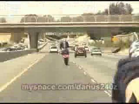 bad motorcycle crash youtube