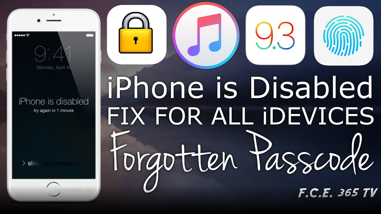 how to fix a disabled iphone how to fix quot iphone is disabled quot and reset forgotten 18811