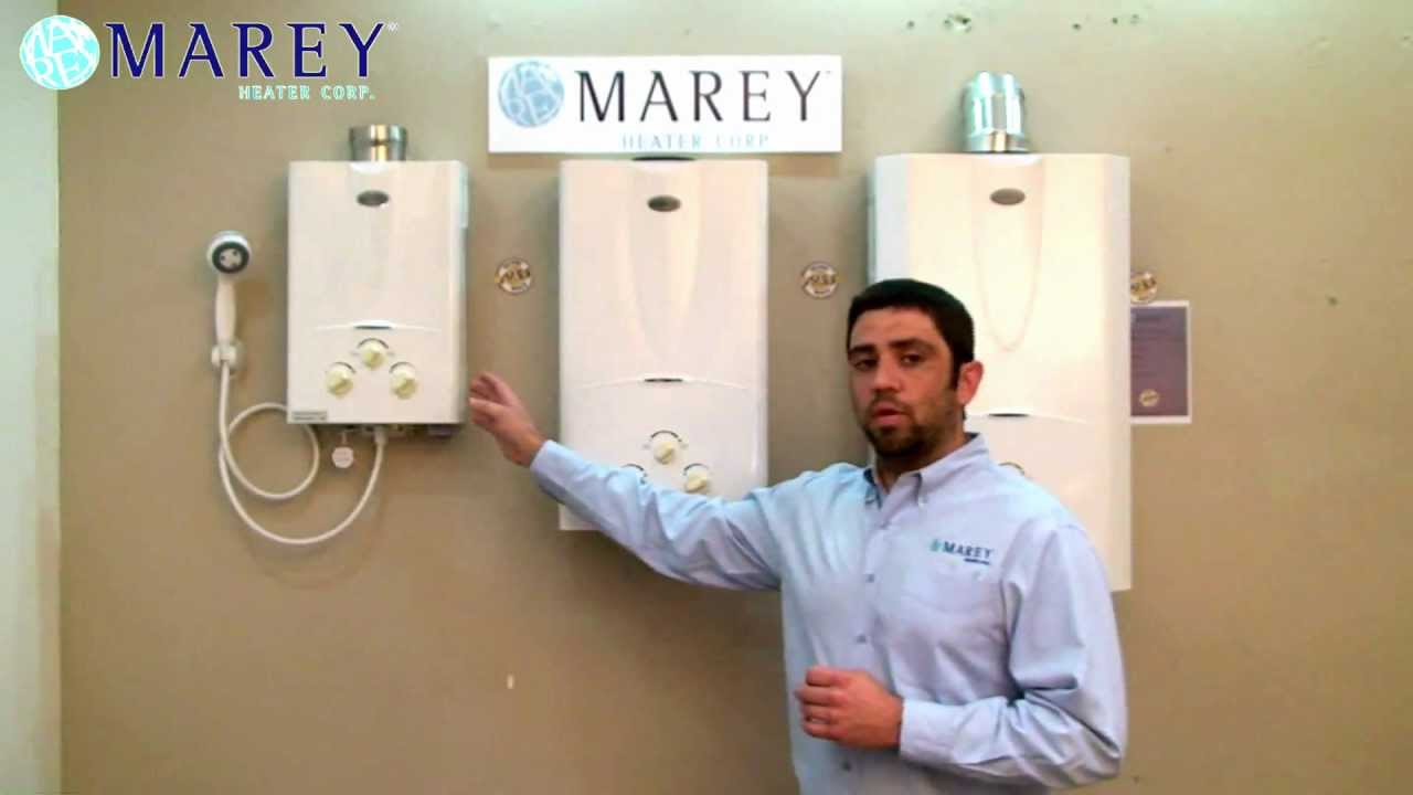 Marey Heater Gas Tankless Water Heater YouTube