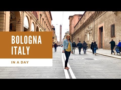 One Day In Bologna, Italy! 🍝 Free Walking Tour