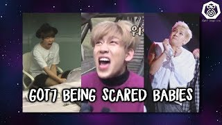 Got7 Being Scared Babies