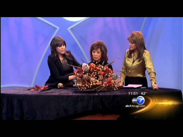 Fall wreath making on ABC7 News