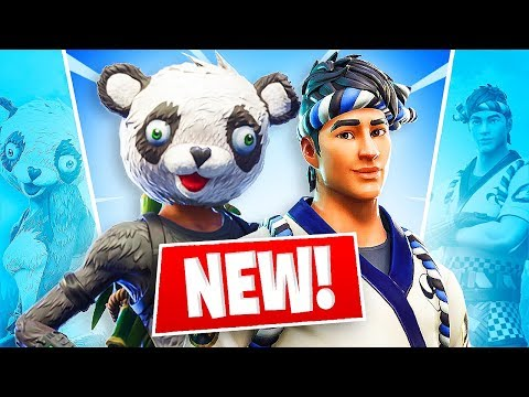 NEW LEGENDARY PANDA SKIN!! *Pro Fortnite Player* // 1,375 Wins (Fortnite Battle Royale)
