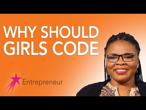 Entrepreneur: Why Girls Consider A Career in Coding - Ernestina Appiah Career Girls Role Model