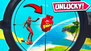 WORLDS *UNLUCKIEST* PLAYER EVER!! - Fortnite Funny Fails and WTF Moments! #930