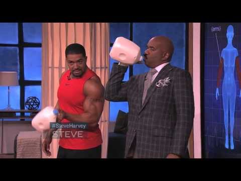 David Otunga at home workout!