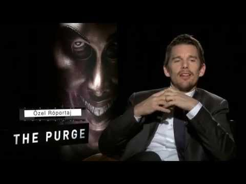 """The Purge"" Interview with Ethan Hawke and Producer Jason Blum"