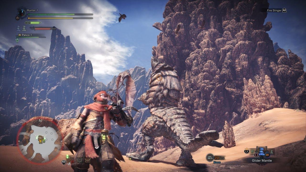 Guard 5 Monster Hunter World