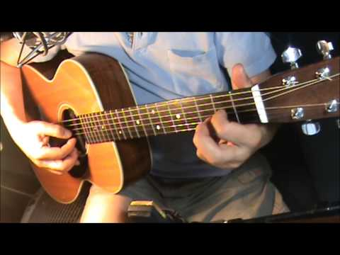 Hold On-Michael Bublé-fingerstyle-chords