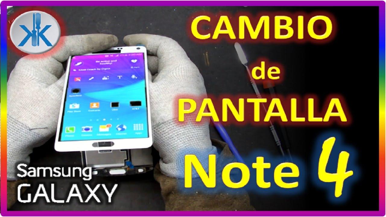 73bc1ae0956f8 👍✓ Samsung Galaxy Note 4. Cambio Pantalla