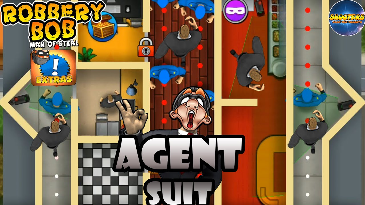 Robbery Bob – New Suit: AGENT - Part 18
