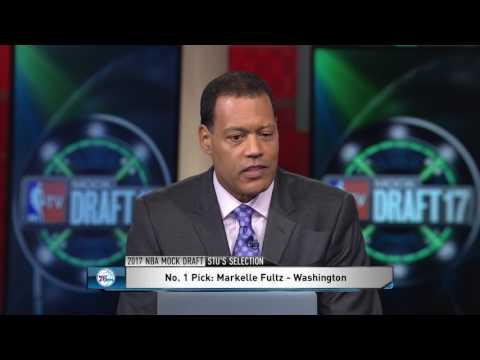 Download Youtube: 2017 NBA Mock Draft Sixers Pick Markelle Fultz No.1