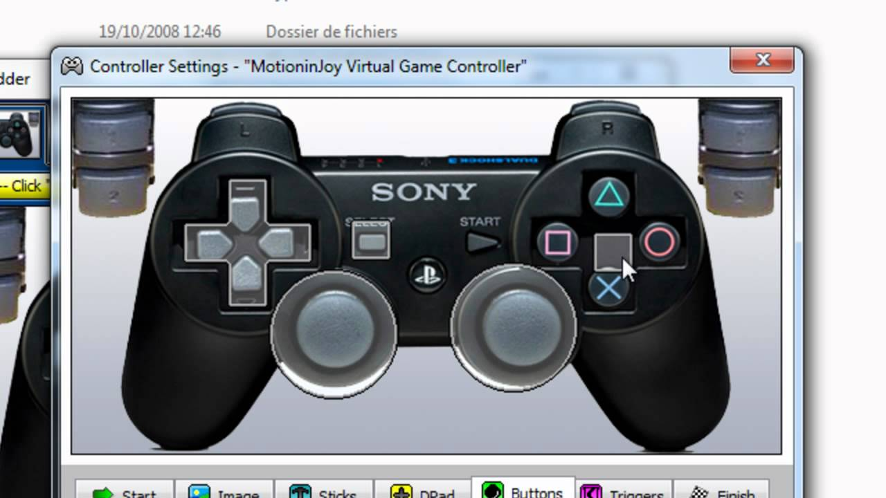xpadder manette pc