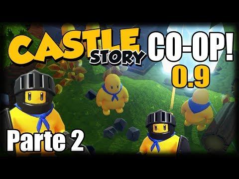 Castle Story Co-Op 0.9 - Ep 2 - Batalhas da Noite e Mais Wards!