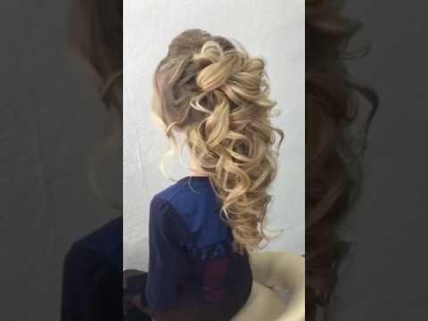 Греческая коса свадебная причёска