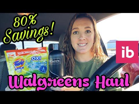 Walgreens Haul 80% Savings! – 2 Freebies with Ibotta! I 1/3-9/2021
