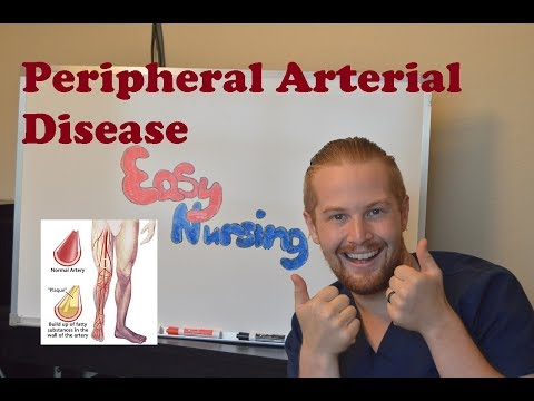 Peripheral Arterial Disease (PAD) - NCLEX Review