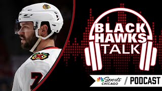 Brent seabrook update and a 2010 hawks reunion | blackhawks talk podcast nbc sports chicago