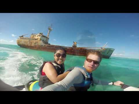 Jet skiing in Turks and Caicos