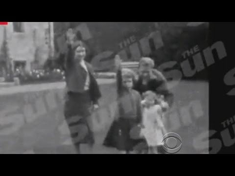 Film shows Queen Elizabeth giving Nazi salute as a child