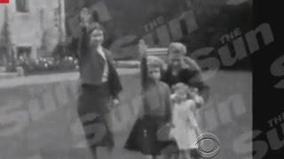 Gambar cover Film shows Queen Elizabeth giving Nazi salute as a child