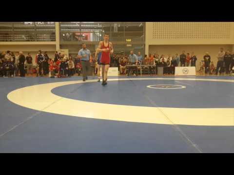 2015 Senior Greco-Roman National Championships: 66 kg Luke Roberts vs. Joseph Dashou