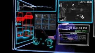 After Effects Minority Report Interface HUD
