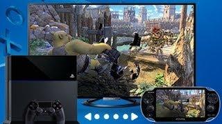 Начни играть на PS4 и продолжай на PS Vita!