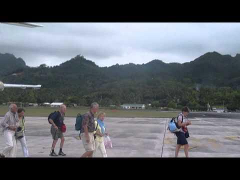 Cook Islands   Rarotonga Airport