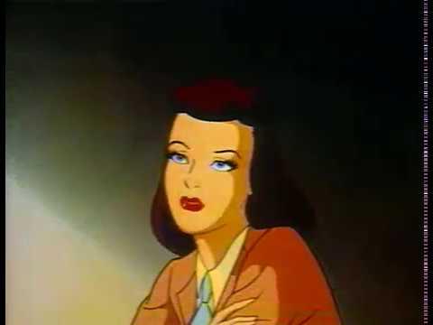 Superman Electric Earthquake 1942 cartoon