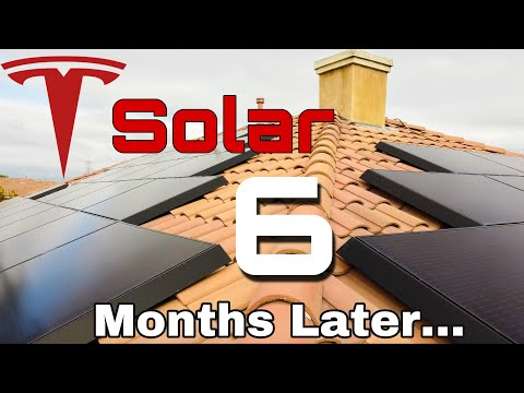 6 Months Later with Tesla Solar Panels: Electricity Bills, Production Numbers, and Customer Service