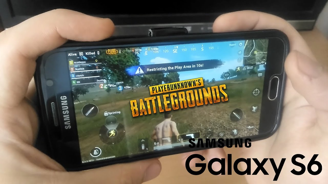 Pubg Running On Galaxy S6 Pubg On Android Player Unknown