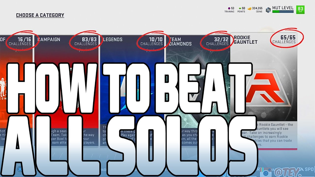 How To Beat Every Solo in 1 Play • Use This Glitch Before It's Patched (Madden 19 Ultimate Team)