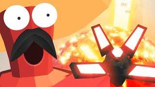 CRAZY ORBITAL STRIKE GRENADE - Totally Accurate Battlegrounds Multiplayer Gameplay | Pungence