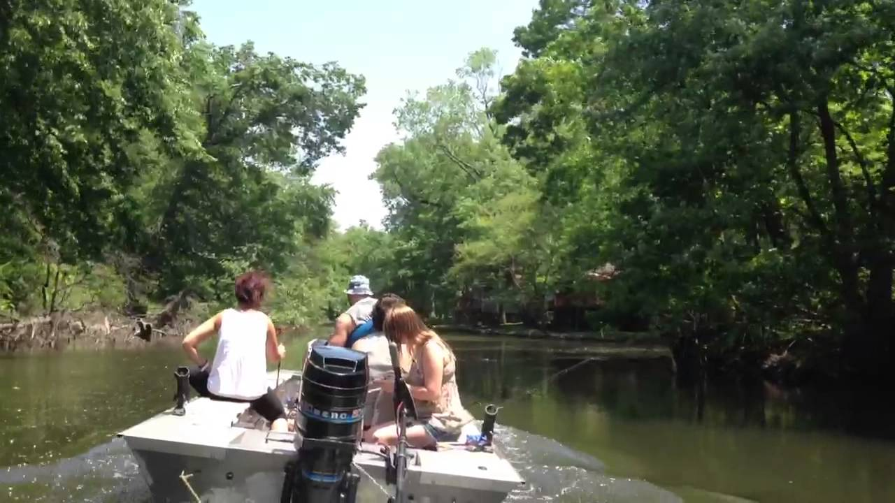 Pequannock river nj boat ride out fishing youtube for Passaic river fishing
