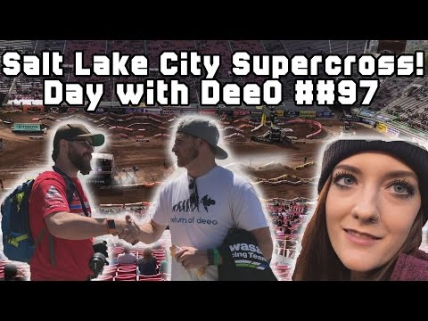 Salt Lake City Supercross Trip! Day with DeeO #97