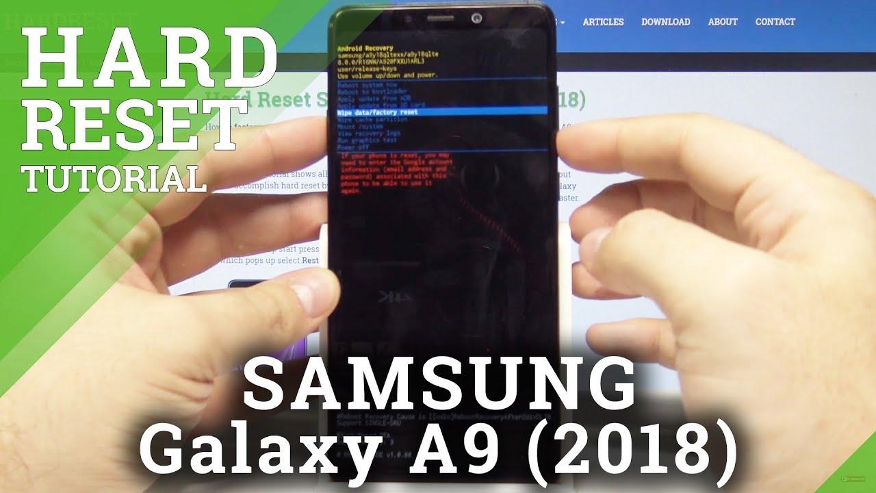 Hard Reset SAMSUNG Galaxy A9 (2018) - HardReset info