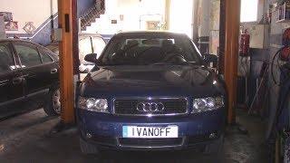 Ремонт автомобиля Audi A4 2001 Motor ALT Ауыстыру радиатор салқындату және жағымды подгон