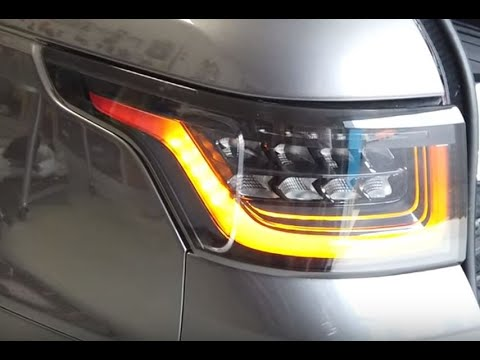 How To Cancel Tail Light When Indicator Is Flashing On Range Rover Sport L494 Rear Light Upgrade