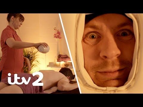 The Stand Up Sketch Show | George Lewis' Hot Oil Massage Experience | ITV2