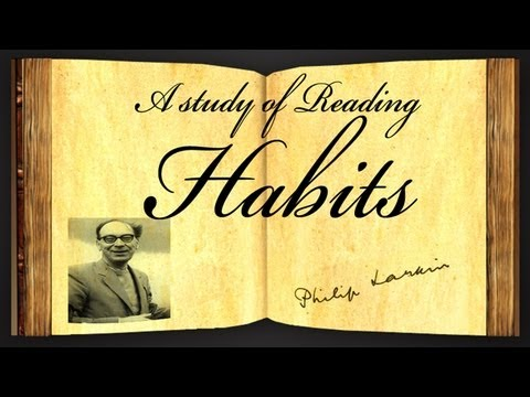 A Study Of Reading Habits Analysis - eNotes.com