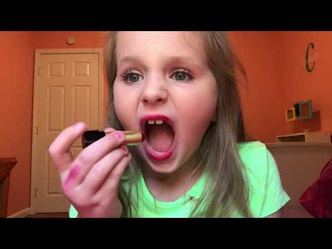 Makeup Tutorial for Cute Kids