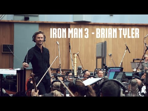 Brian Tyler  Iron Man 3 Recording Session