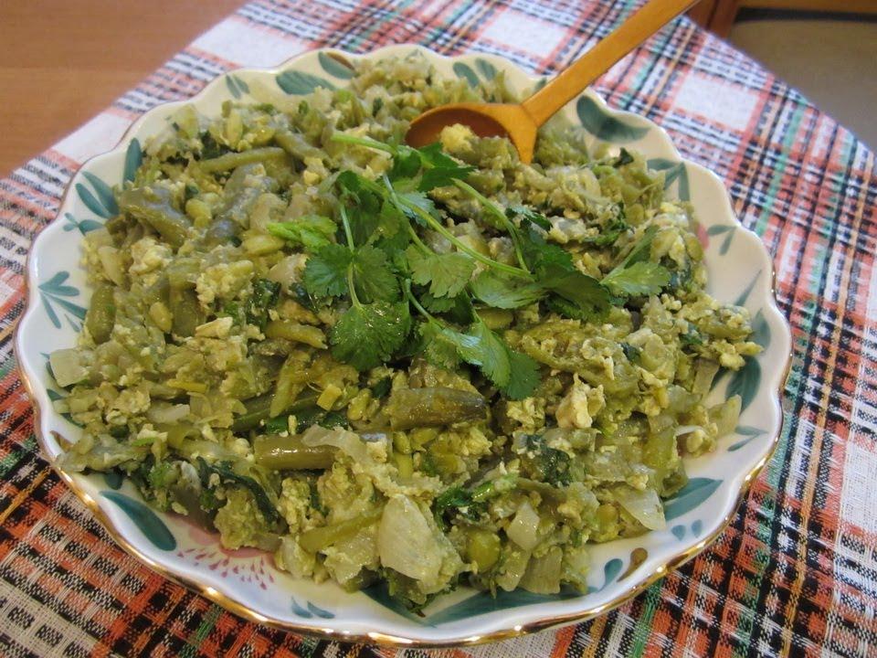 Грузинская кухня лобио по грузински