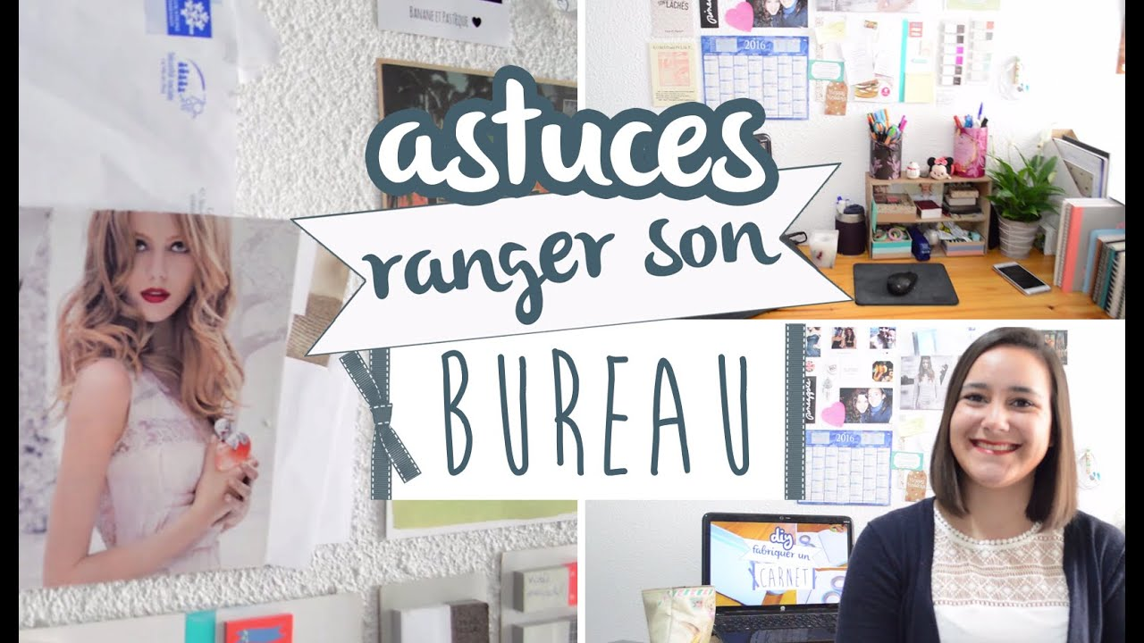 5 astuces n 1 ranger son bureau youtube. Black Bedroom Furniture Sets. Home Design Ideas