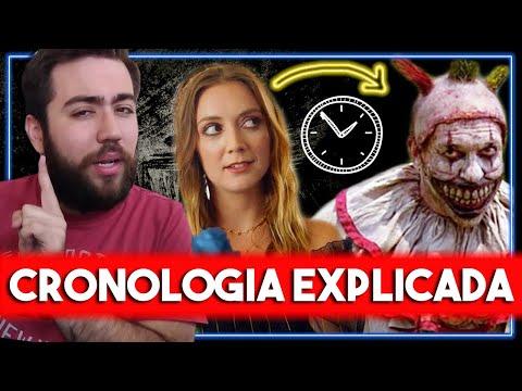 #AHS A ORDEM CRONOLÓGICA DAS 8 TEMPORADAS! | PARTE 1: Da Bruxa Gaga ao Evan Abduzido - Toga Voadora