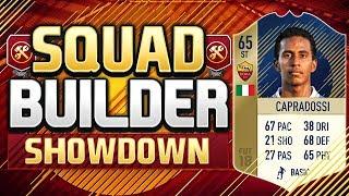 FIFA 18 SQUAD BUILDER SHOWDOWN!!! A LEGEND RETURNS!!! Crapradossi Squad Builder Showdown
