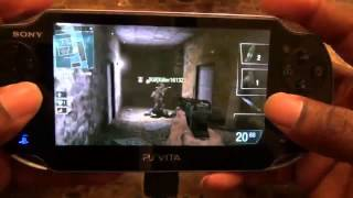Call of Duty Black Ops: Declassified Multiplayer Shattered Gameplay (PS Vita)