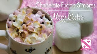 Chocolate Smores Mug Cake - In The Kitchen With Kate