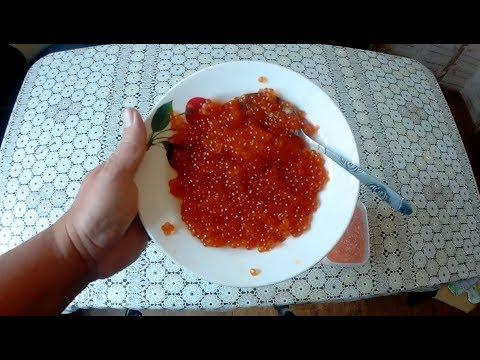 Как приготовить икру пятиминутку из кеты